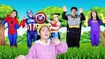 슈퍼히어로 핑거송 영어동요 Finger Family Superheros   Kids Songs  Nursery Rhymes 리콩수콩