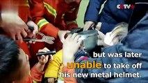 Chine : des pompiers ont sauvé un enfant dont la tête était coincée dans une théière