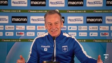 La conférence de presse de Jean-Marc Furlan avant Le Mans-AJA