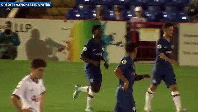 Les folles montées de Tariq Lamptey avec les jeunes de Chelsea