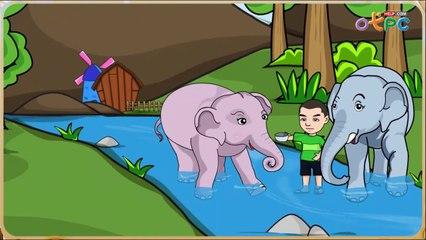 สื่อการเรียนการสอน ช้างอาบน้ำ ป.1 ภาษาไทย