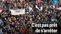 Les grévistes continueront « jusqu'à ce que la réforme s'en aille »