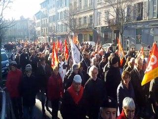 Réforme des retraites : mobilisation du 9 janvier au Puy-en-Velay