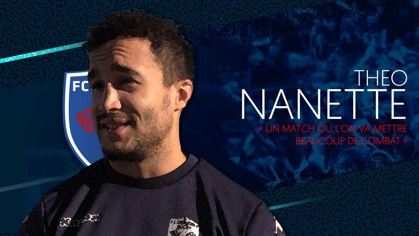 Video : Video - Theo Nanette 'un match ou l'on va mettre beaucoup de combat'