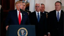 "Trump Says Less Military Action In Iran Crisis Following Iran ""Concluding"" Their Response To The Killing Of Soleimani"