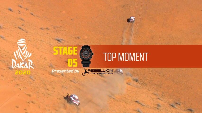 Dakar 2020 - Étape 5 / Stage 5 - Top Moment by Rebellion