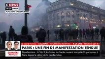 Grève contre la réforme des retraites: Fin de manifestation tendue à Paris - VIDEO
