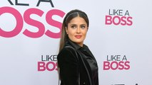 Salma Hayek Says Her Daughter Is Embarrassed by Her 'Like a Boss' Character