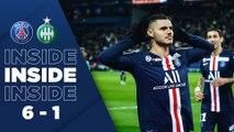 Inside : Paris Saint-Germain - Saint-Étienne