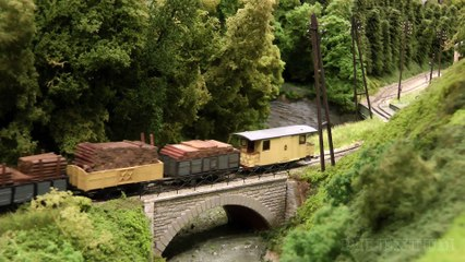 Trams and Tramways in Belgium: Maredval H0m Scale Model Railway Layout by Tom de Decker - Video by Pilentum Television