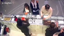 CCTV shows robber who shot three dead in Thailand shopping mall