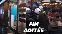 À Paris, vitrines brisées, violences et charges policières en fin de manifestation