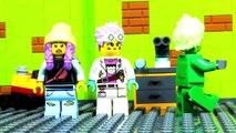 LEGO CITY HALLOWEEN HIDDEN SIDE - NEWBURY GHOSTBUSTERS STOP MOTION