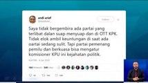 Andi Arief: OTT Komisioner KPU adalah Kejahatan Politik