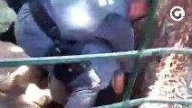 Idoso é agredido por policiais na Serra