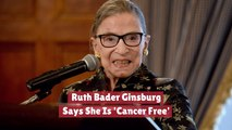 Ruth Bader Ginsburg Is Doing Well