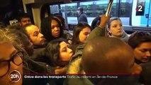 Grève des transports : le trafic toujours au ralenti en Île-de-France