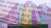 Bourse : des dividendes records pour les actionnaires du CAC 40