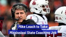 Mike Leach to Take Mississippi State Coaching Job