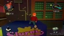 Futurama Walkthrough Part 5 (PS2, XBOX) Level 5: Red Light District