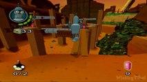 Futurama Walkthrough Part 12 (PS2, XBOX) Level 12: The Junkyard