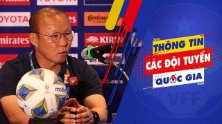 HLV Park Hang Seo: U23 Việt Nam sẽ chơi 100% khả năng trước U23 UAE   VFF Channel