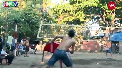 [THỂ THAO ĐỘC LẠ] Đánh bóng chuyền bằng bàn nhựa, ván gỗ ở Sài Gòn