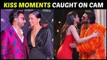 BEST Moments When Deepika Padukone KISSED Ranveer Singh In PUBLIC