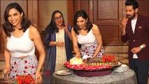 Deepika padukone celebrate her 33rd Birthday With Vikrant Massey | deepika padukone birthday