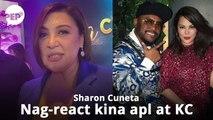 Panoorin ang reaksyon ni Sharon Cuneta sa balitang pagde-date nina KC Concepcion at apl.de.ap