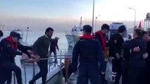 Kilyos açıklarında tanker ile balıkçı teknesi çarpıştı (2)