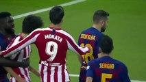 Joao Félix et Lionel Messi se sont chauffés !