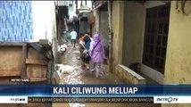 Kali Ciliwung Meluap, Rumah Warga di Kampung Melayu Terendam Banjir
