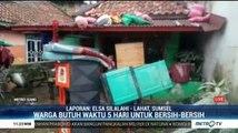 Banjir Bandang di Lahat Berangsur Surut