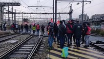 Marseille : la gare Saint-Charles bloquée par les grevistes