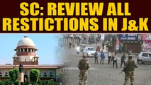 SC on J&K: All restrictive orders must be made public, indefinite internet suspension abuse of power