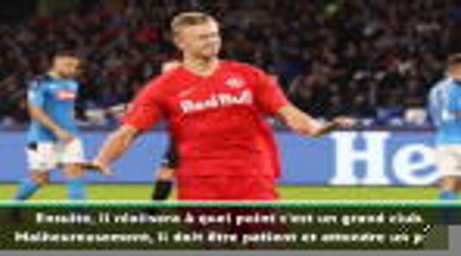 """Dortmund - Brandt : """"Il faut donner du temps à Haaland"""""""