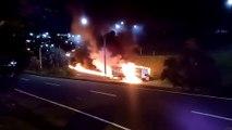 Acidente entre caminhões na BR 101 deixa morto e ferido em São Mateus