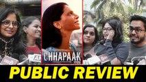 CHHAPAAK - PUBLIC REVIEW - DEEPIKA PADUKONE, VIKRANT MASSEY
