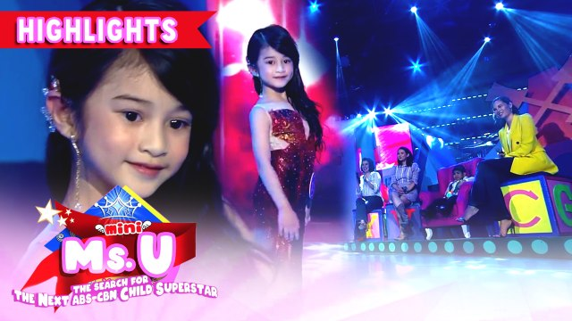 Avi Moldez showcases her version of 'Lava Walk' | It's Showtime Mini Miss U