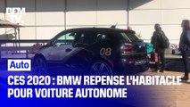CES 2020 : BMW I3 Urban Suite repense l'habitacle pour des voitures de plus en plus autonomes
