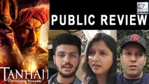 PUBLIC REACTION | Tanhaji: The Unsung Warrior | Ajay Devgn | Saif Ali Khan | Kajol