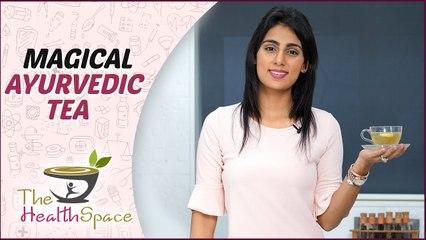 How to make herbal tea   Magical Ayurvedic Tea   Herbal Tea Recipe   The Health Space
