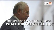 Excerpts of 9 MACC recordings, what do they tell us?