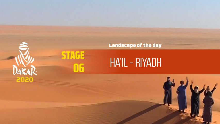 Dakar 2020 - Étape 6 / Stage 6 - Landscape of the day