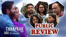 Public Review| Deepika, Vikrant starrer 'Chhapaak' leaves a strong impact on the masses