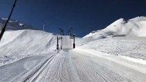 Vidéo - Montagne : conditions de ski royales sur les pistes !