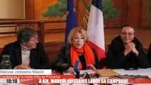 Maryse Joissains - Conf de presse