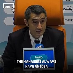 Valverde expects Barcelona sacking rumours after Super Cup defeat