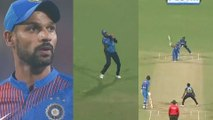 IND vs SL 3rd t20 : Dhawan loses his calm after scoring a 50 | Oneindia Kannada
